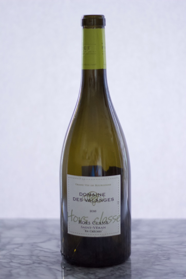 Bottle of Domaine Des Valanges