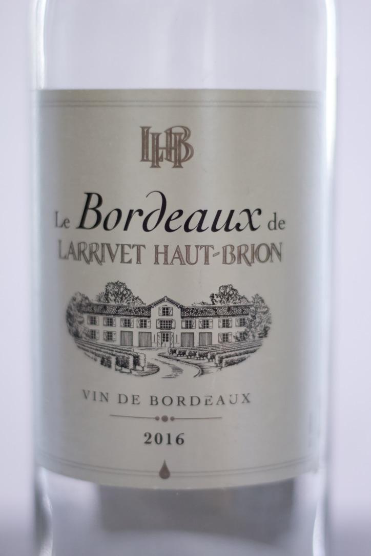 White Bordeaux Combo of Sauvignon blanc and Semillion grapes.